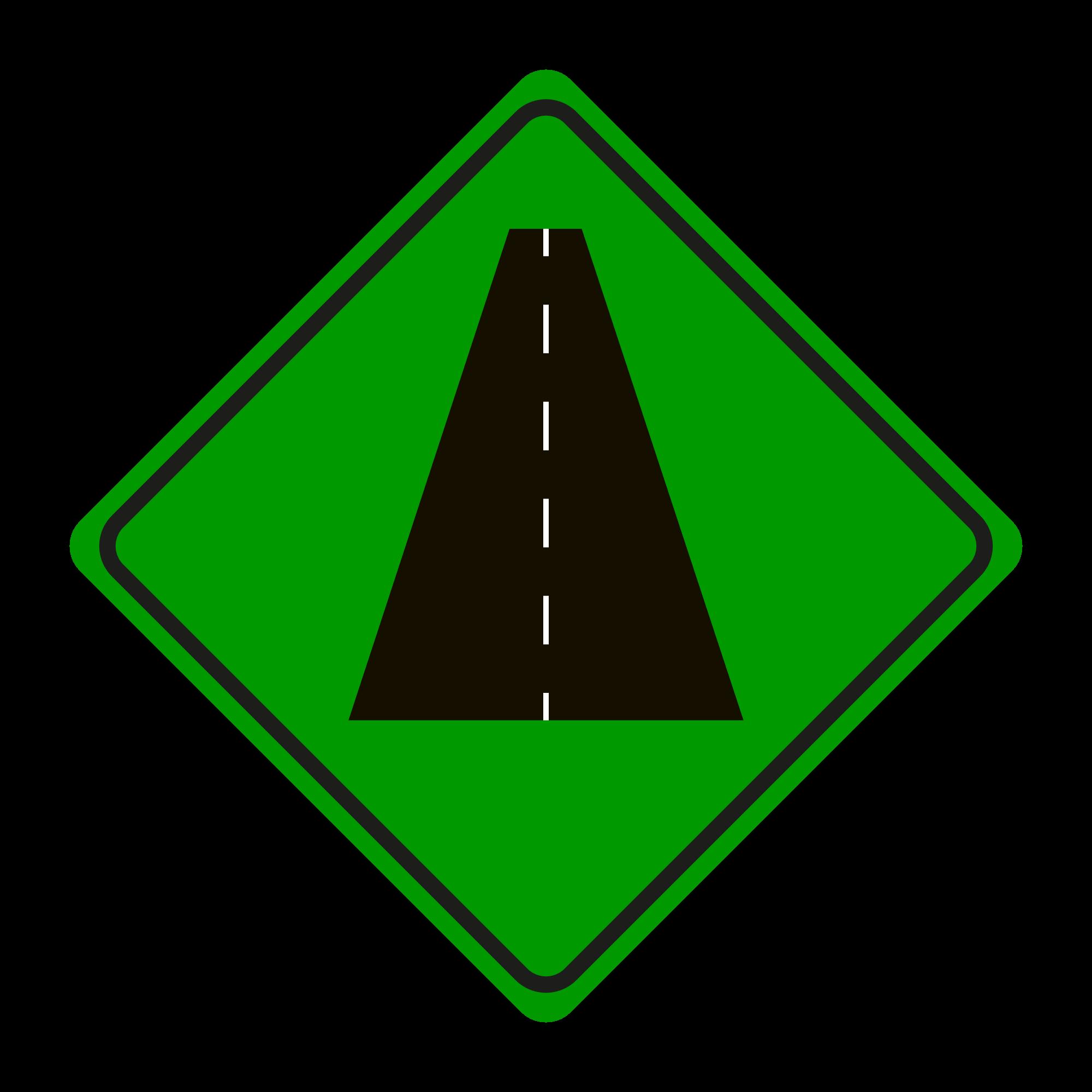 VERDE - Compuesto de alto rendimiento en carretera asfaltada