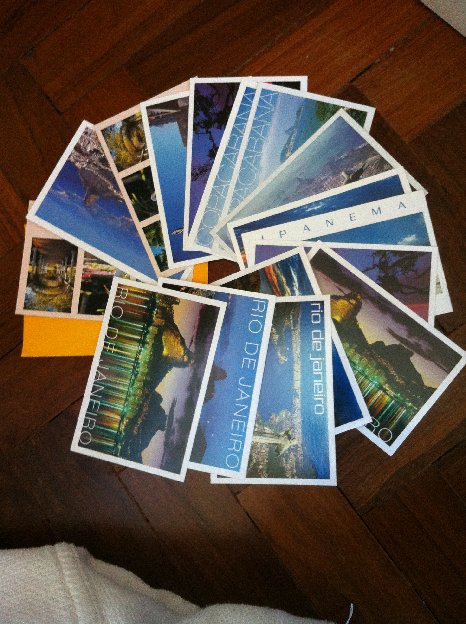 A postcard is a quick and simple way to show you care.