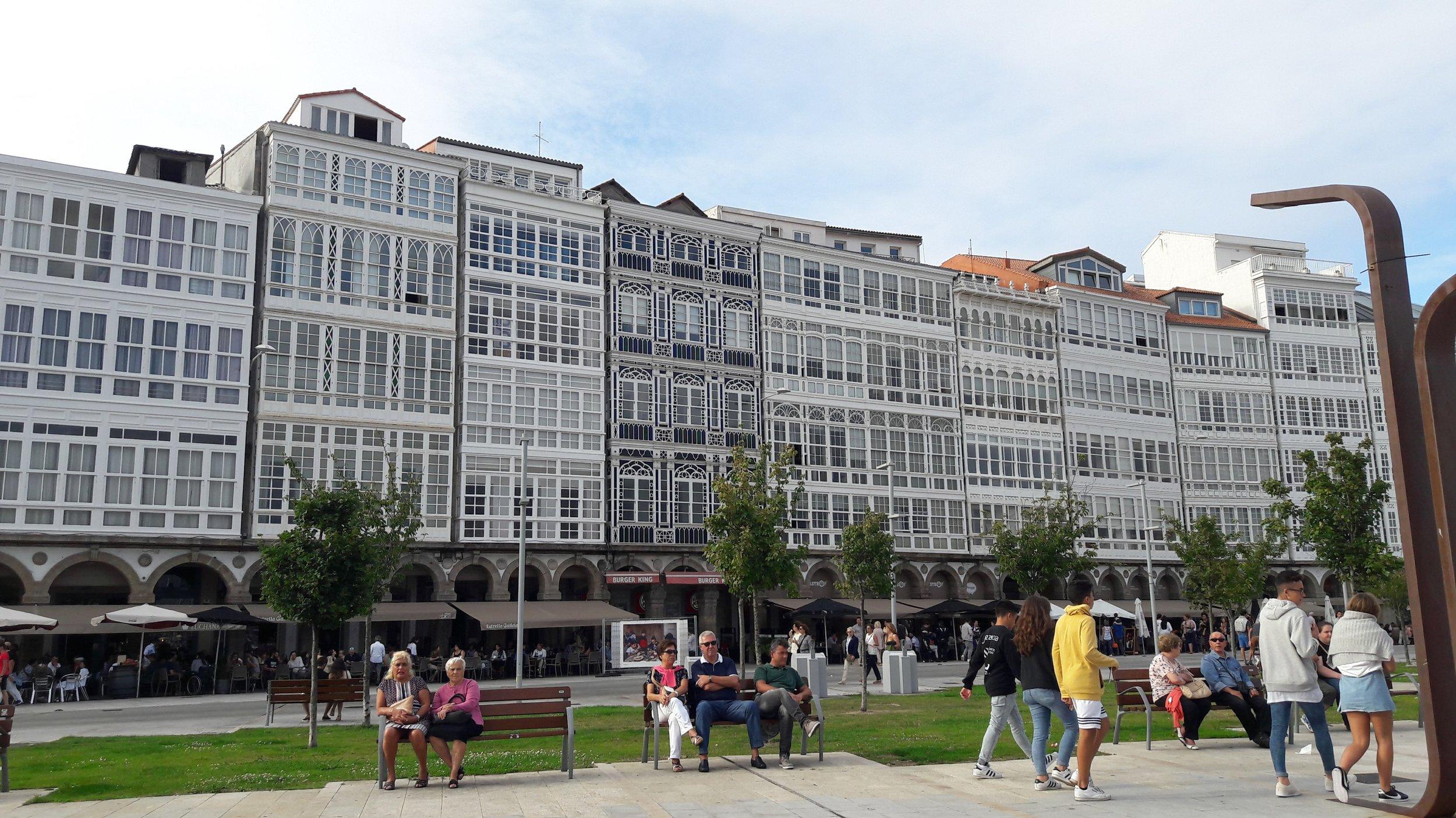 """María Pita or """"Plaza Mayor"""""""