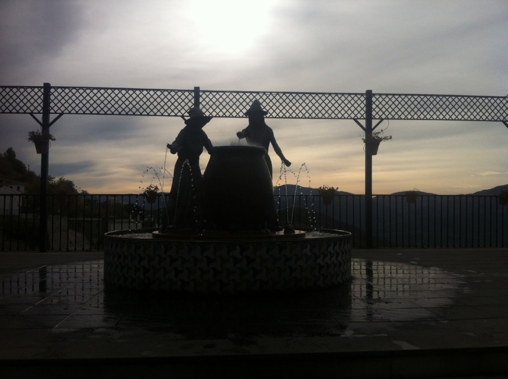 The witches of Soportújar.