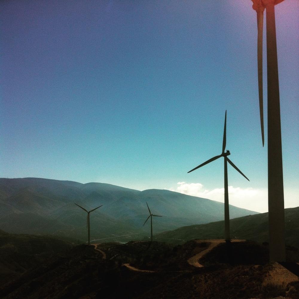 The windmills in the Alpujarra.