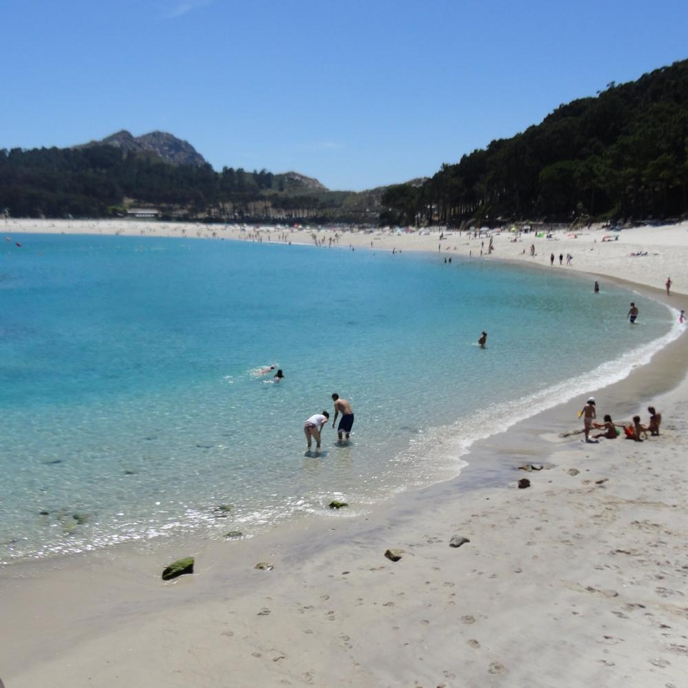 La Playa de Rodas.