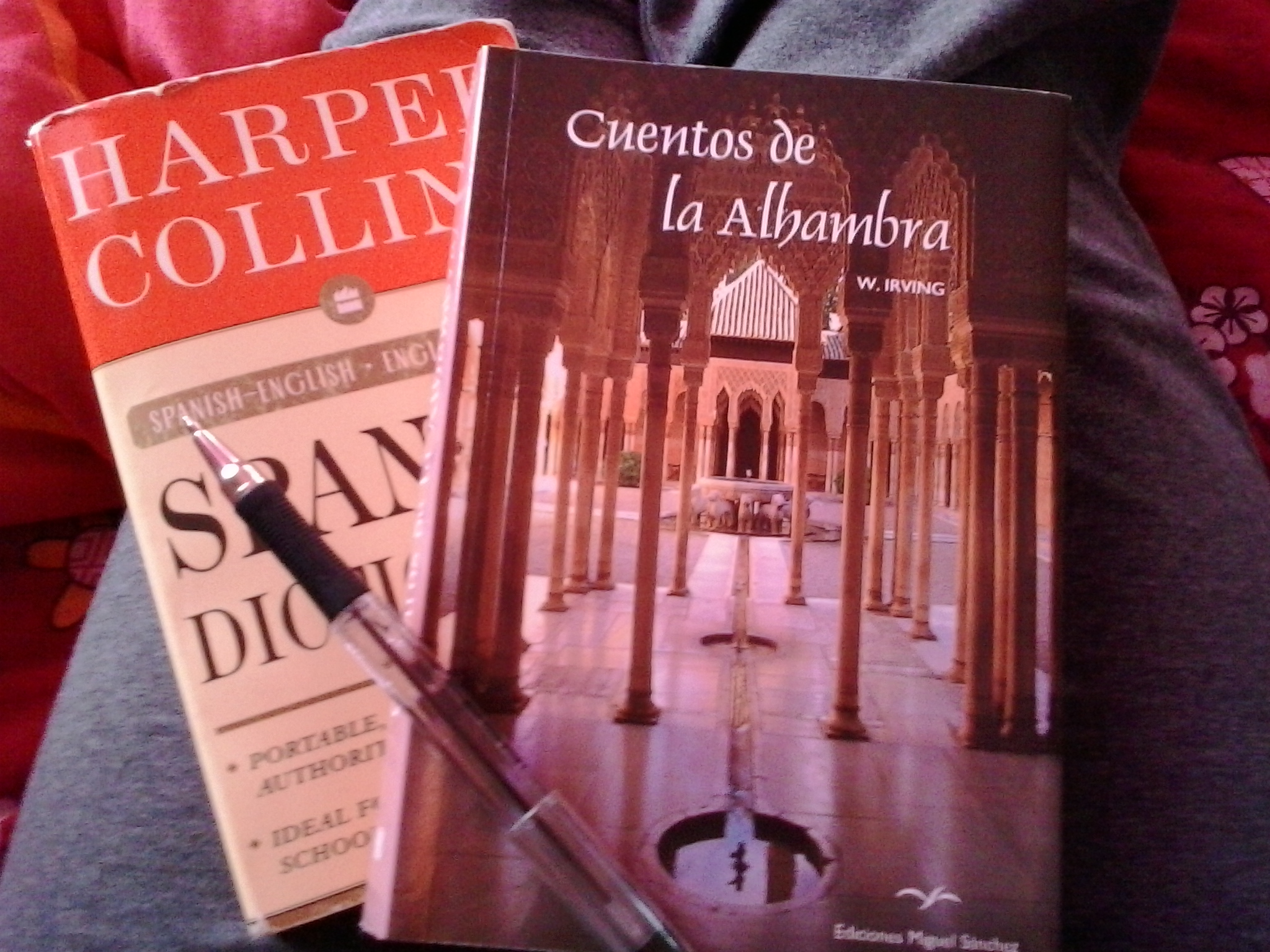 When being back home feels awkward, it's incredible the comfort I have found in reading  Cuentos de la Alhambra  and being transported back to my home in Granada.
