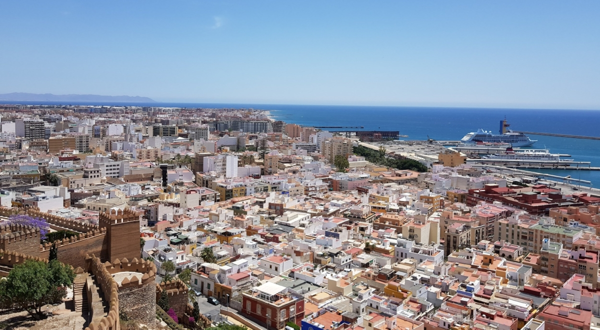 Alcazaba, City, and Port