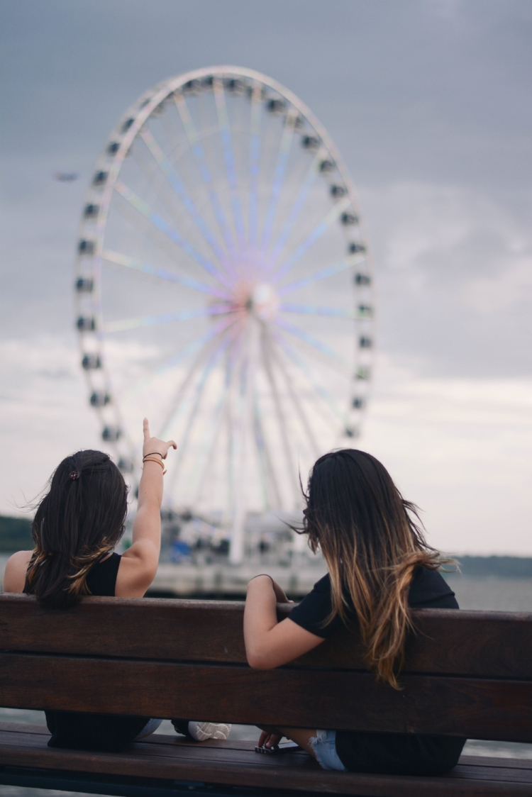Are you okay with seeing the sights from a distance or do you want to go into (or onto) every attraction? You don't have to agree on everything, but you need to be understanding of each others' wants.