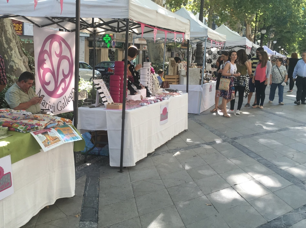 A local market in Granada held the first Saturday of each month.