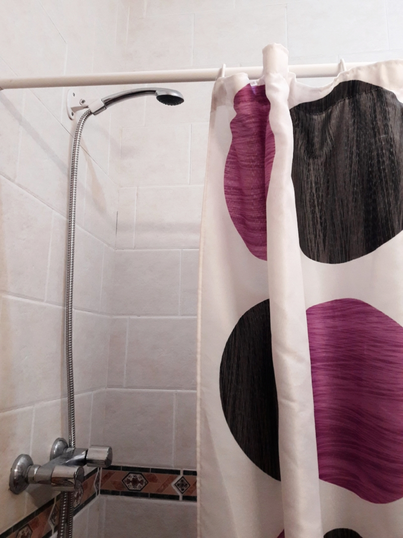The whole detachable showerhead thing once seemed like a hassle to me, but it's become second-nature and even useful!