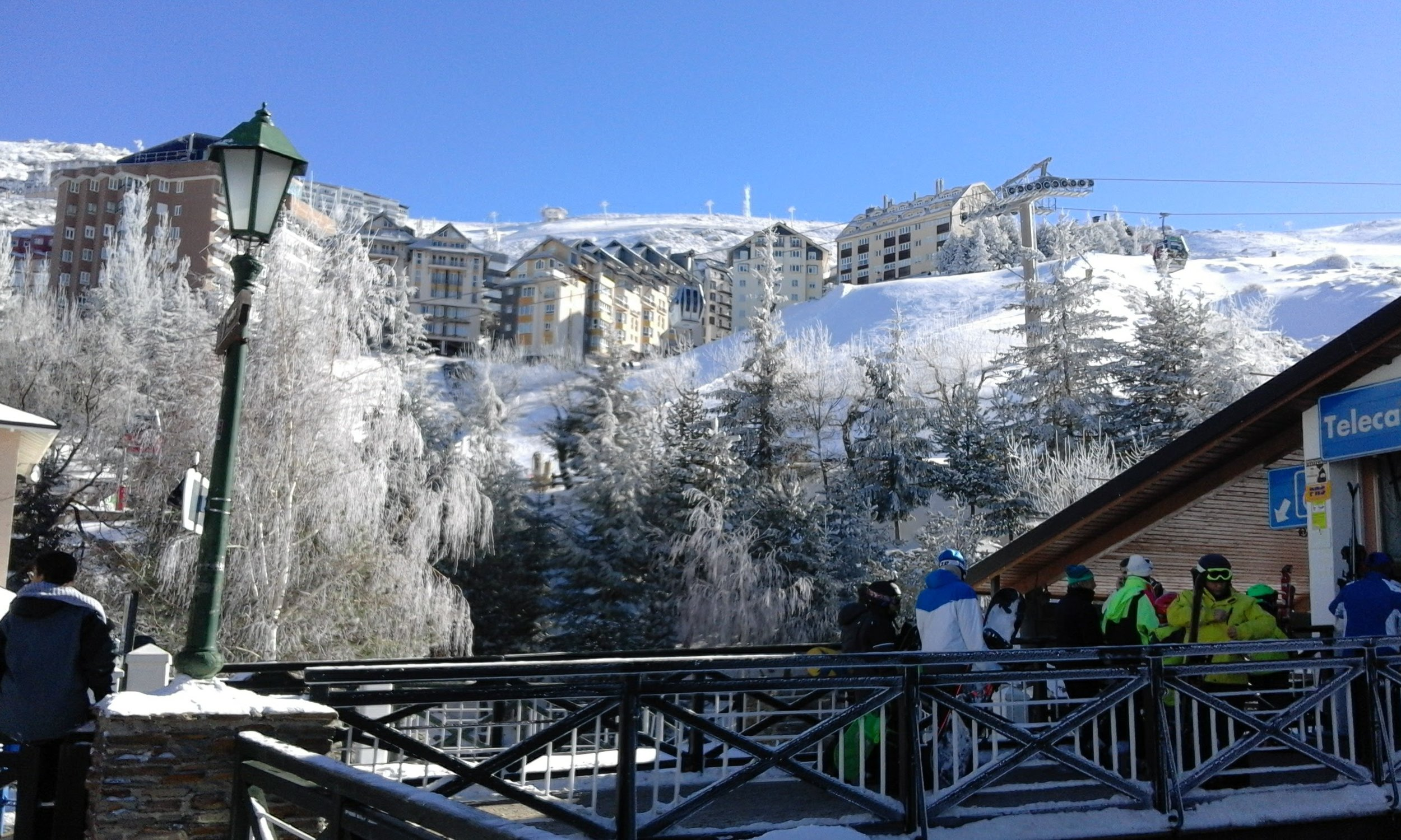 ski village Sierra Nevada