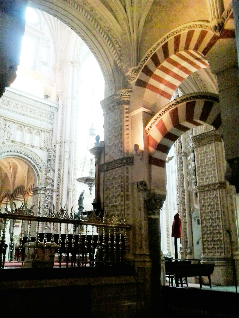 It's incredible to see the stark dissonance in architectural style within  La Mezquita.