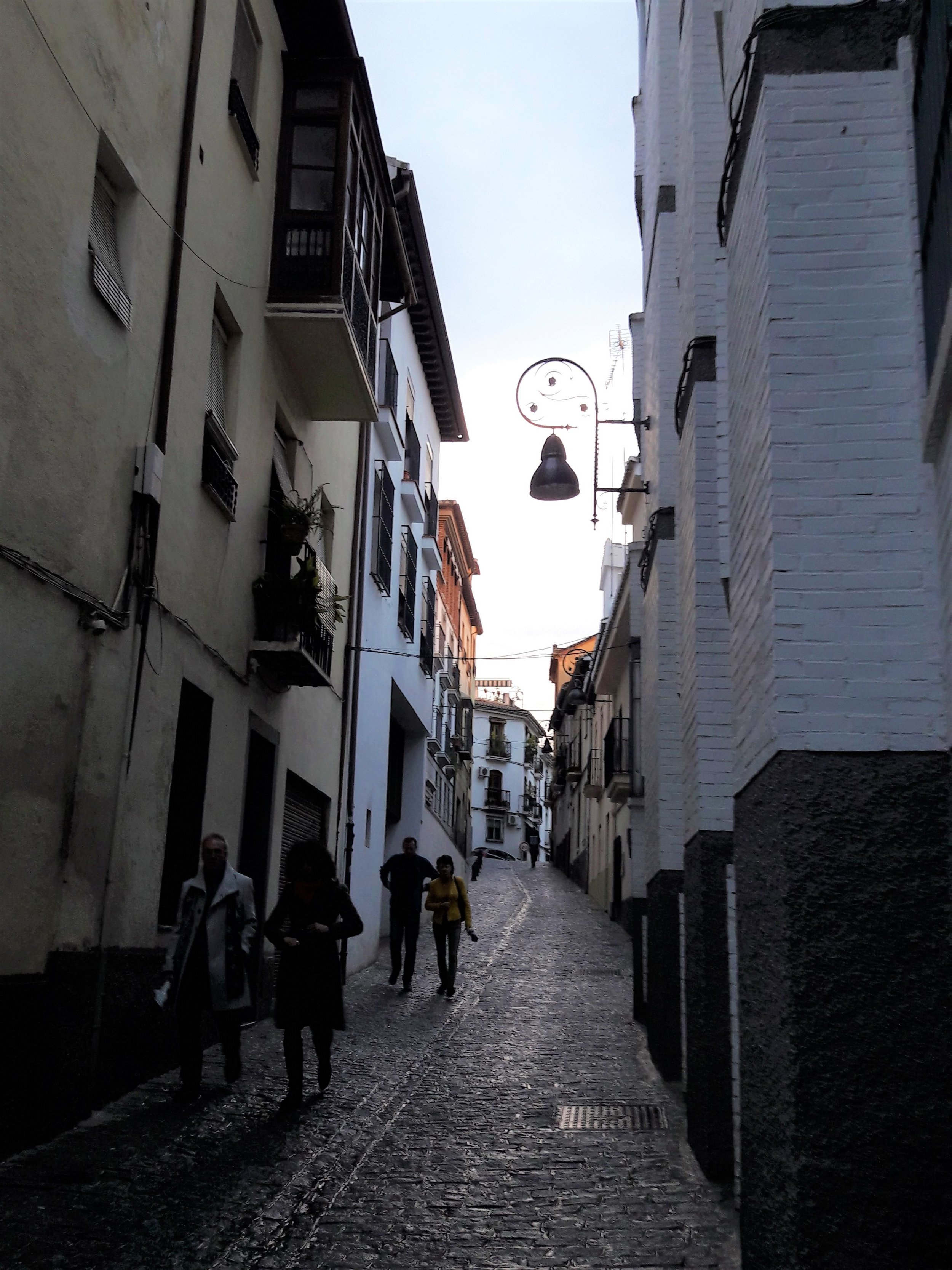 My long walks are helping me discover Granada all over again.