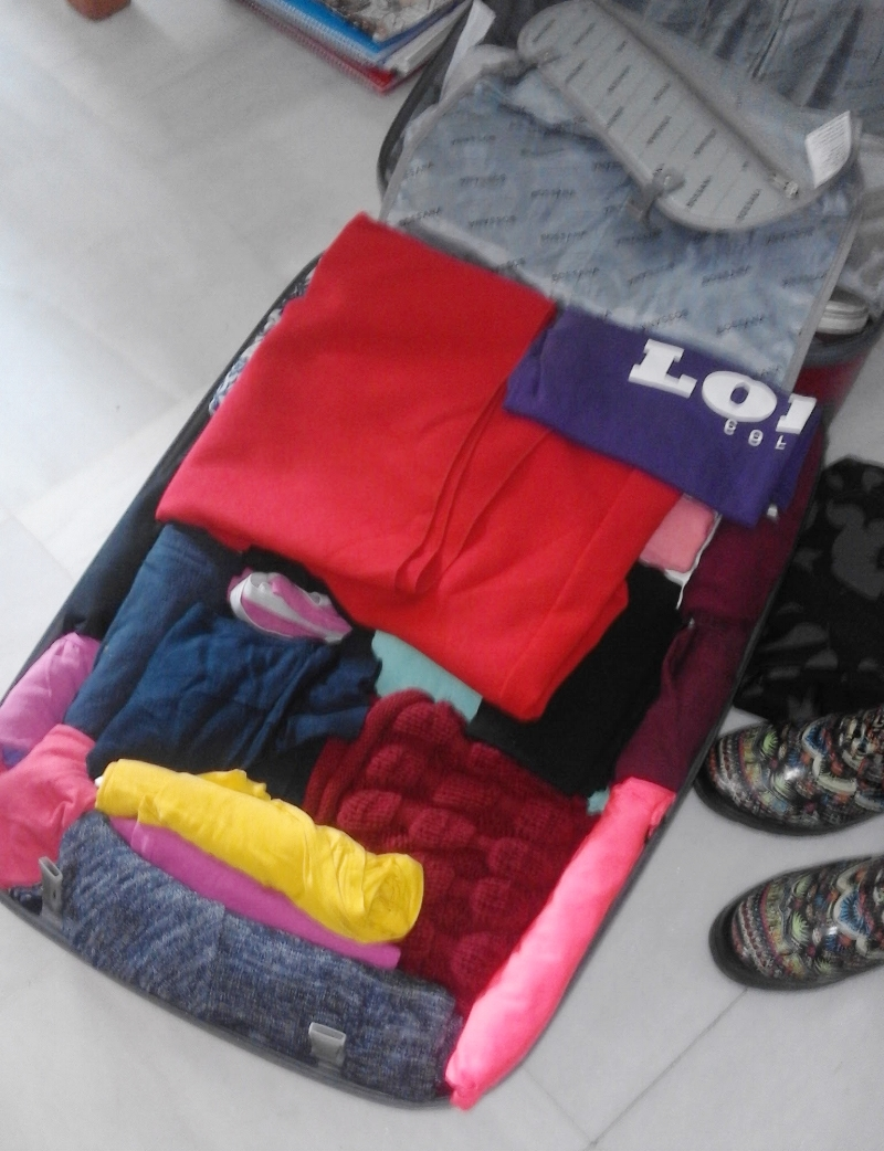 Use your luggage space effectively!