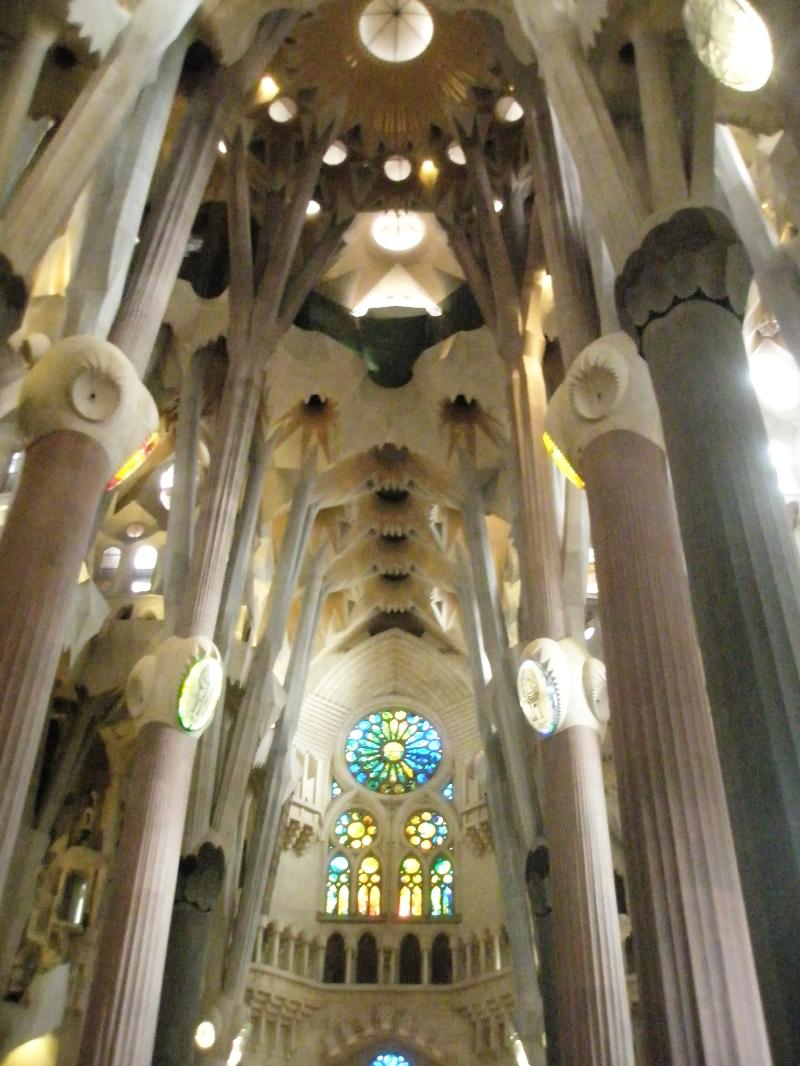 If you do but one Gaudí-related thing, PLEASE tour the inside of the Sagrada Familia—it's unlike anything else you've ever seen!