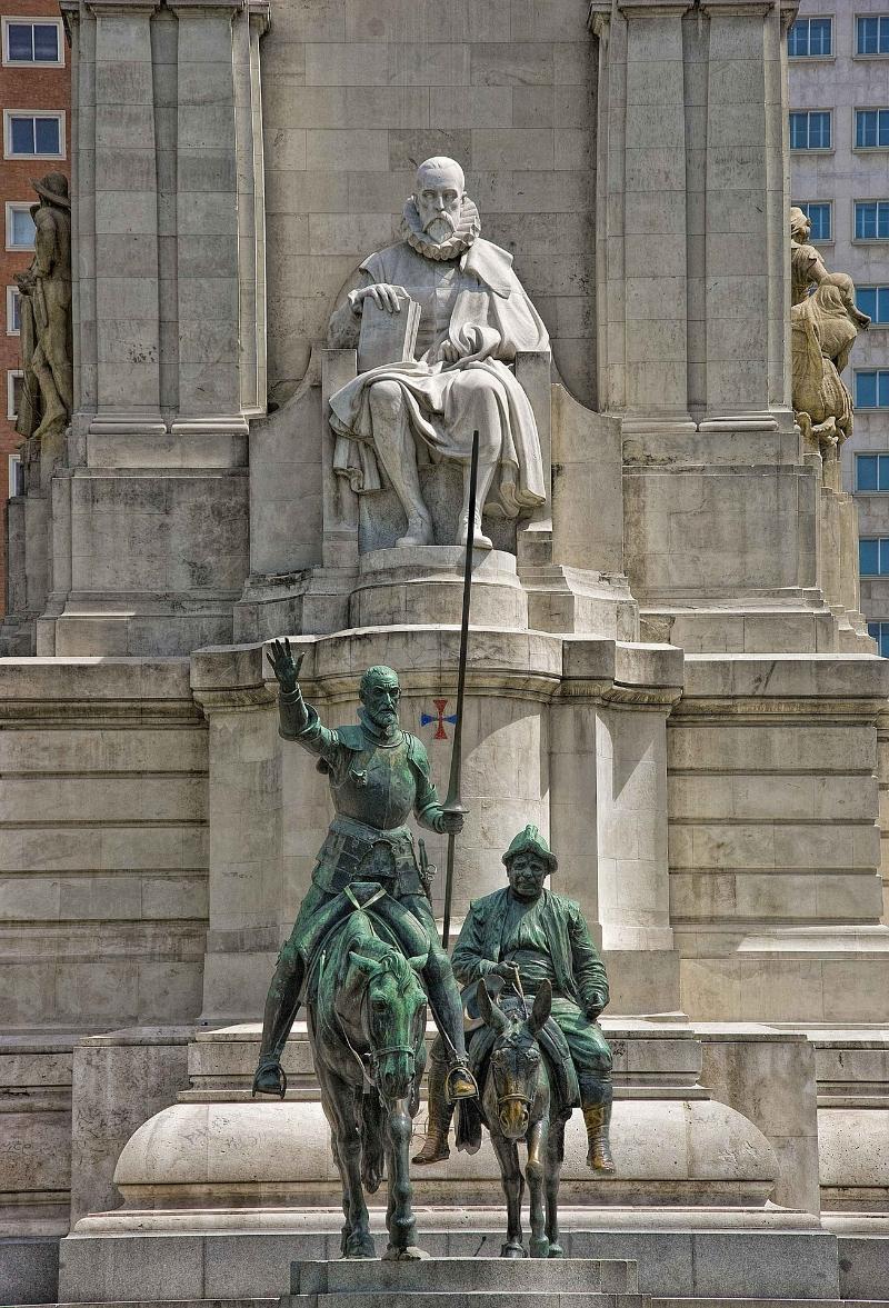 don-quixote-statue-madrid