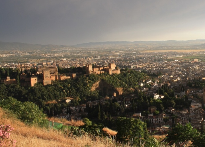 The Alhambra from San Miguel Alto.