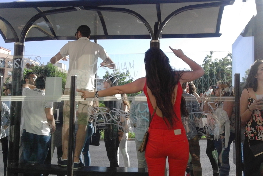 It may take you forever to catch a  ferial  bus...but maybe that's part of the experience!