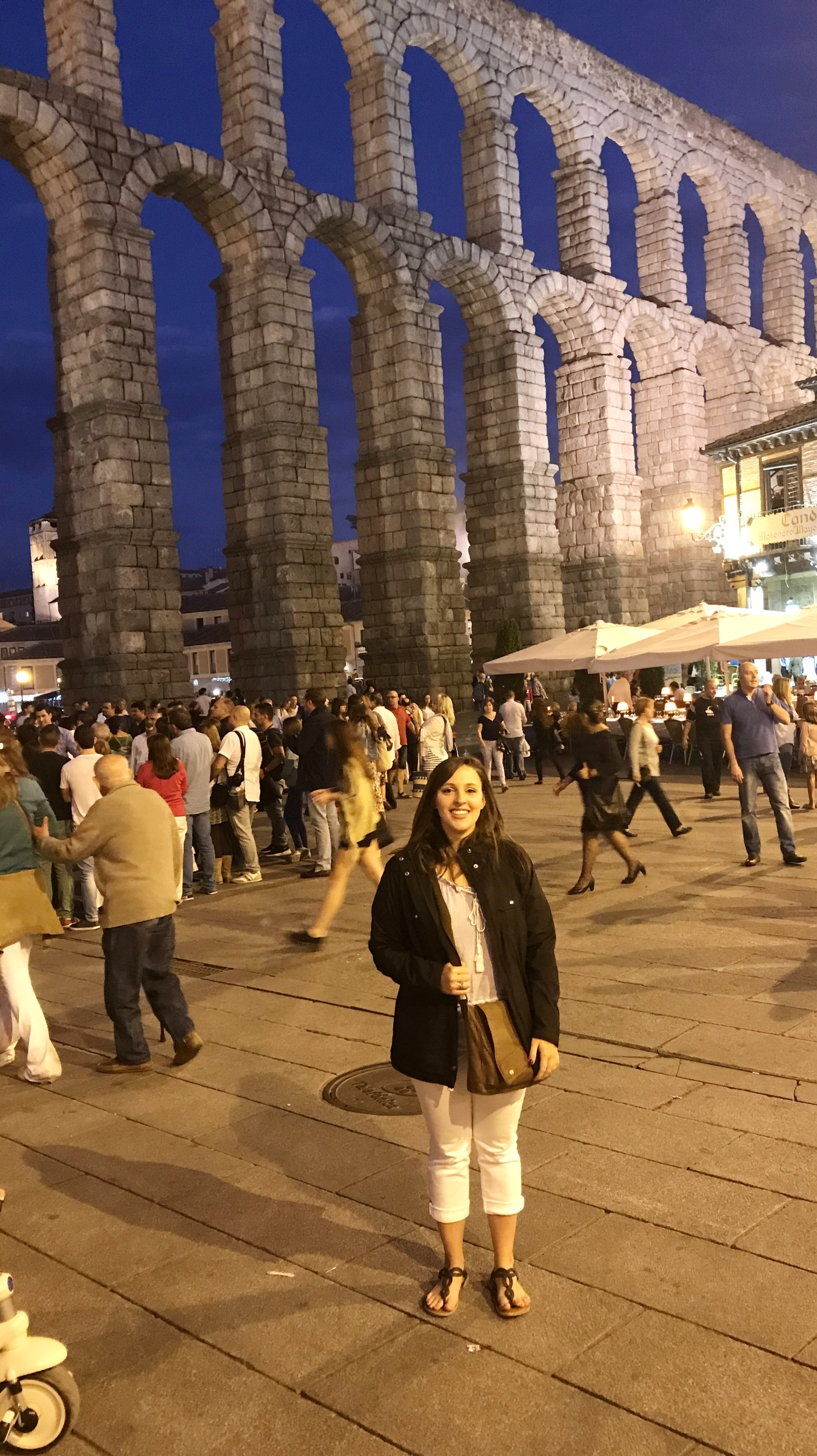My family was fantastic about taking me on trips and showing me their favorite places in Spain.