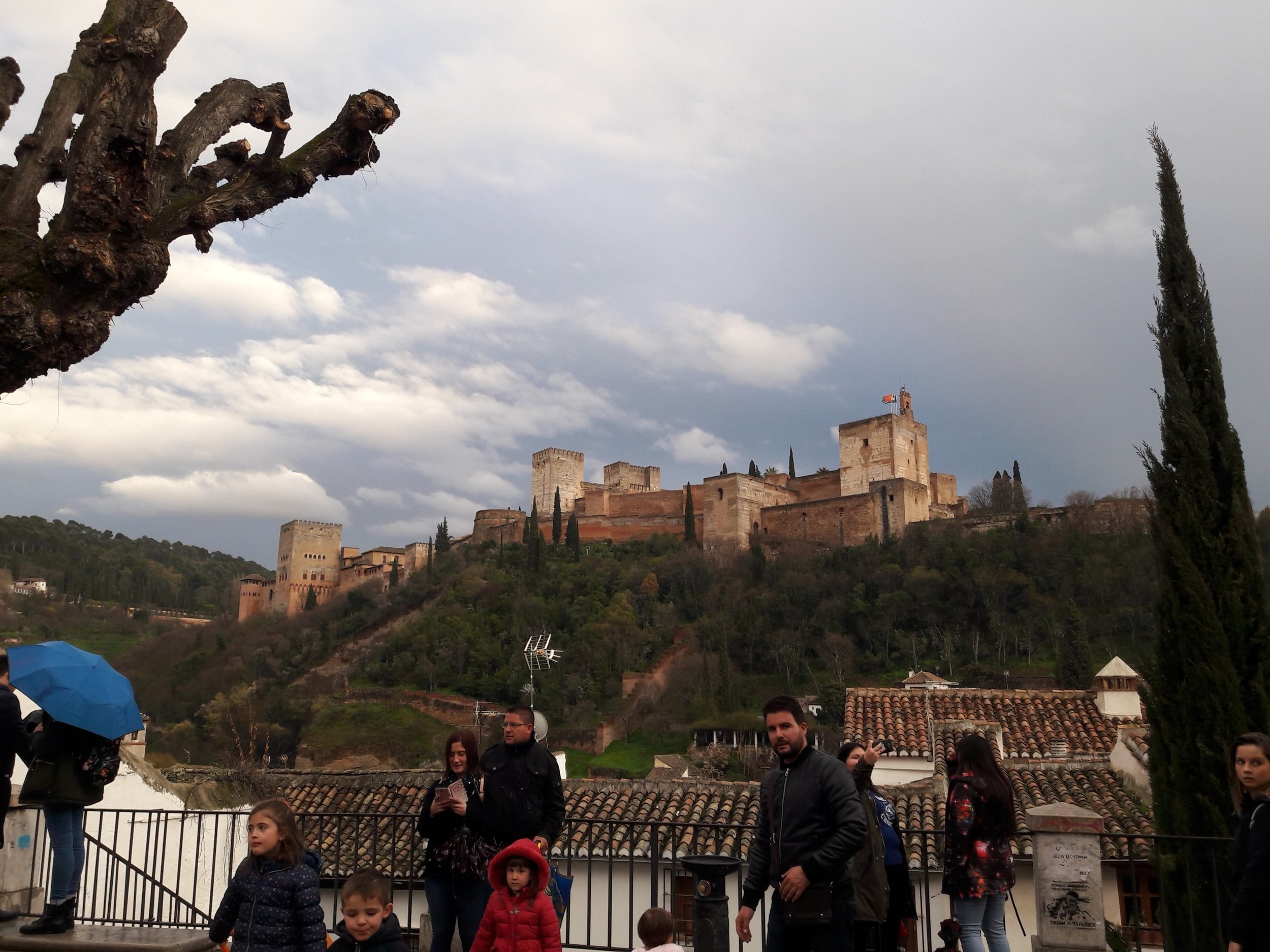 For me, there's nothing like capturing one more shot of the Alhambra (especially after a contemplative wander on my own).