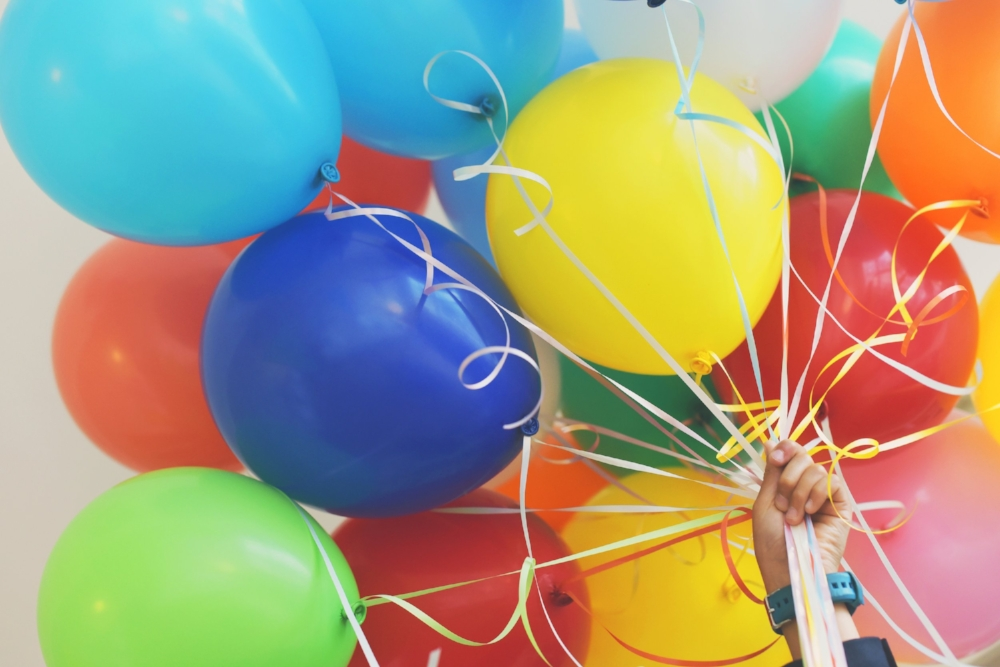 Birthday Balloons. Photo Source: Photo by Gaelle Marcel on Unsplash
