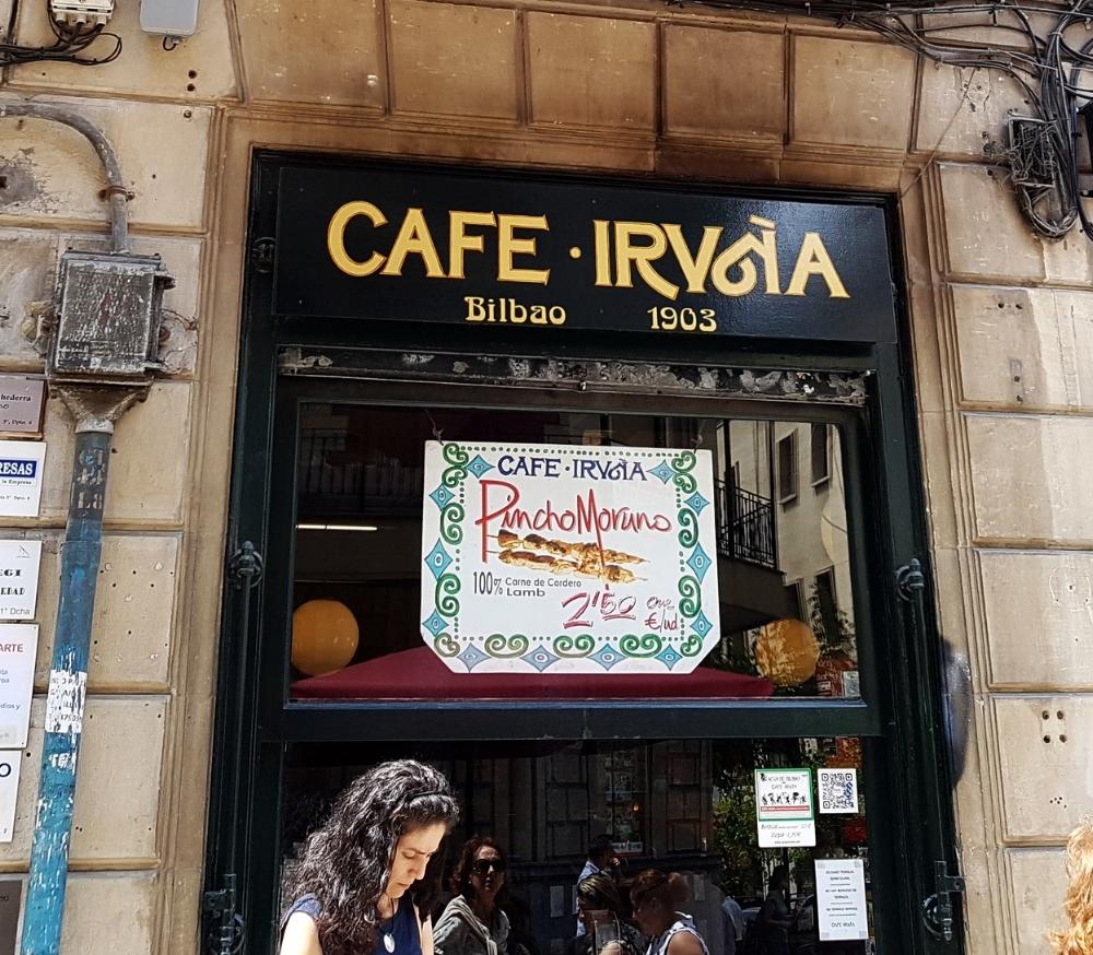 Café Iruña.