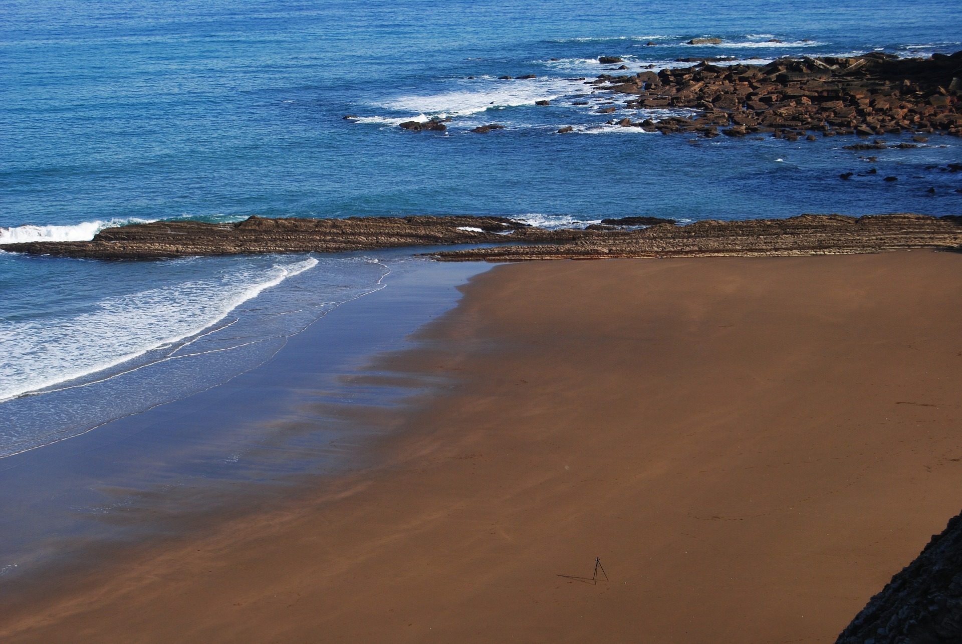 Beaches in the Basque Country.