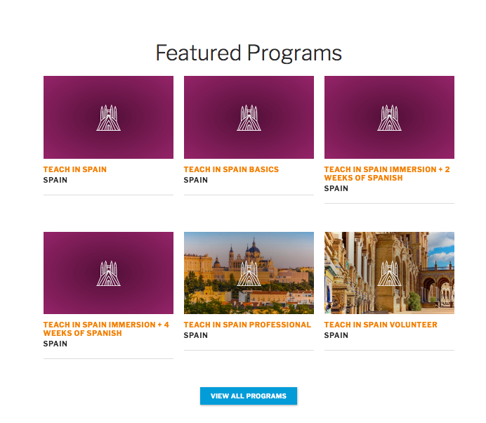 Be sure to check out CIEE's different programs  here !