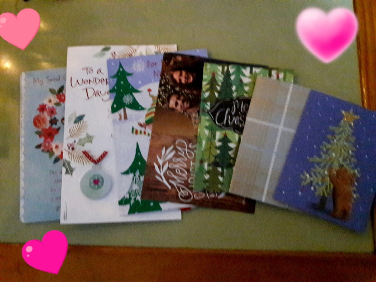 Sending love in a simple card may be an easier bet, but packages are completely doable, too!