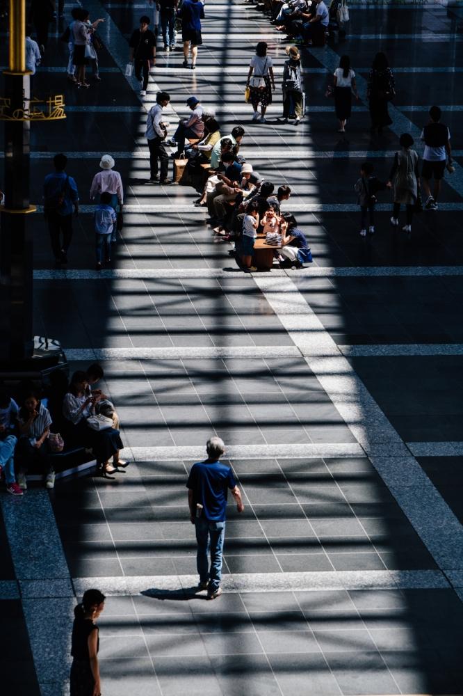 People you'll never see again. Photo source Unsplash Ryoji Iwata on Unsplash