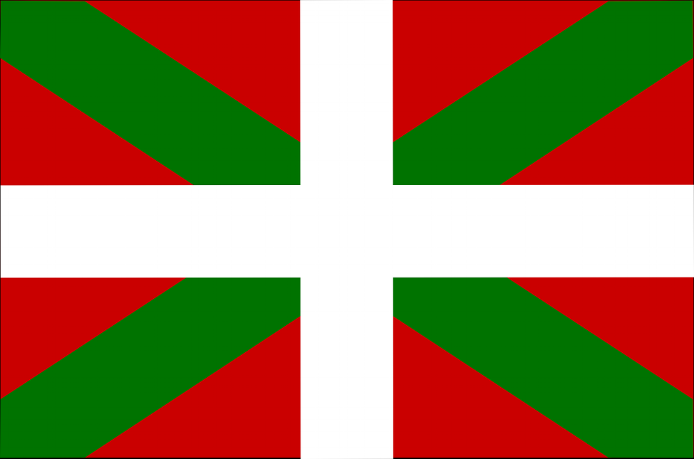 The Basque flag.