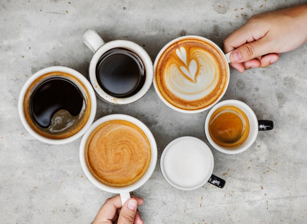 Different coffee options. Photo source Pexels rawpixel.com