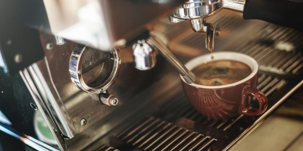 Coffee machine. Photo source Pexels rawpixels.com