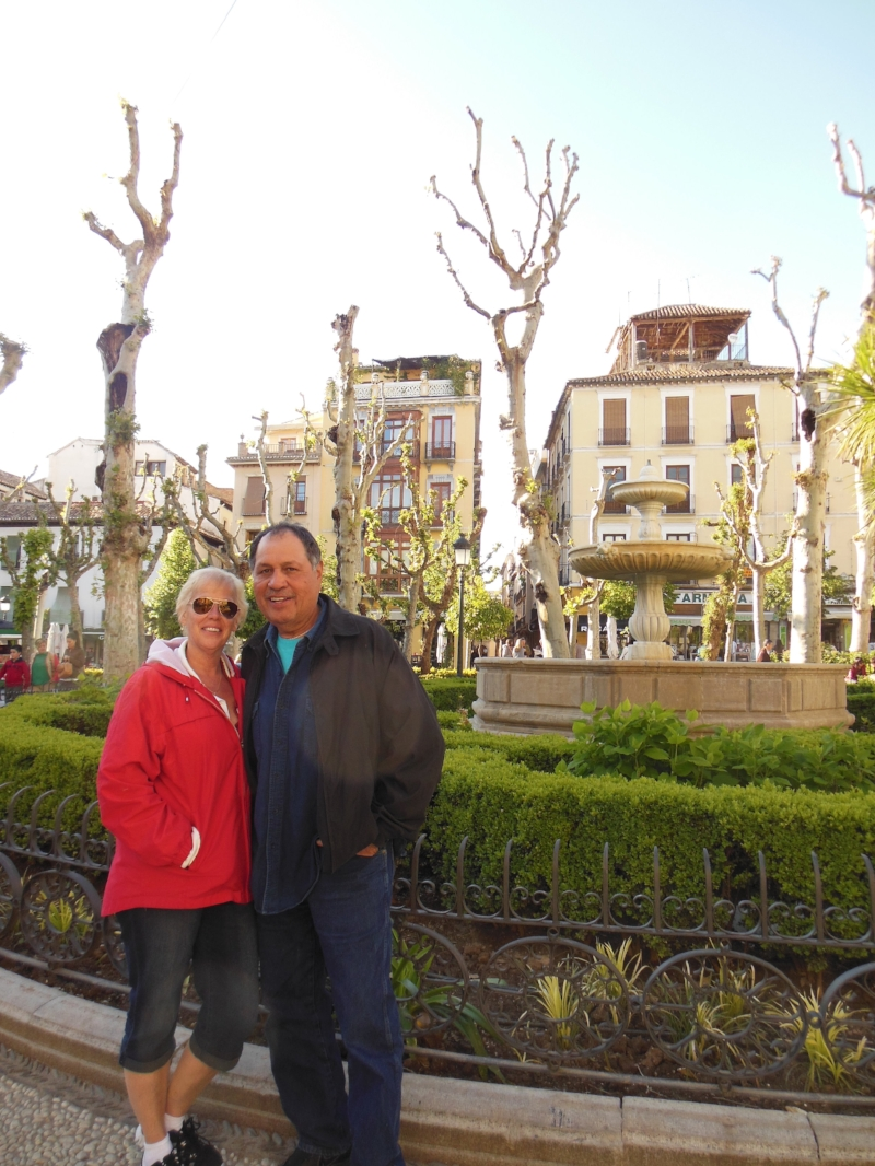 Seeing and experiencing Granada firsthand helped us understand our daughter's obsession.