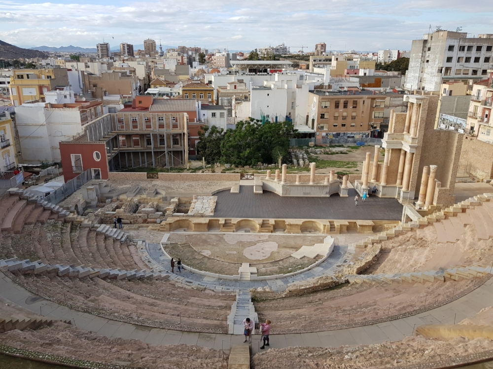 The Roman Theater can be appreciated from above at no cost.