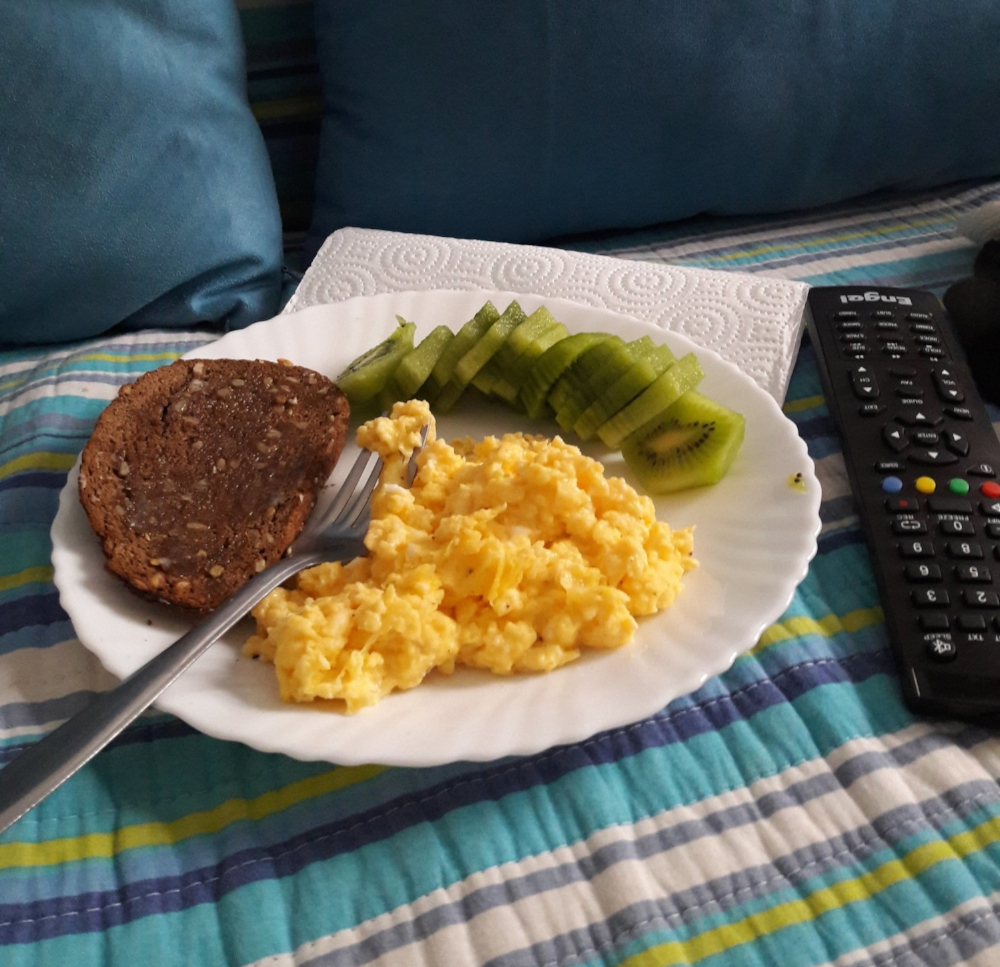 I also have my mama to thank for teaching me the importance of a solid breakfast!
