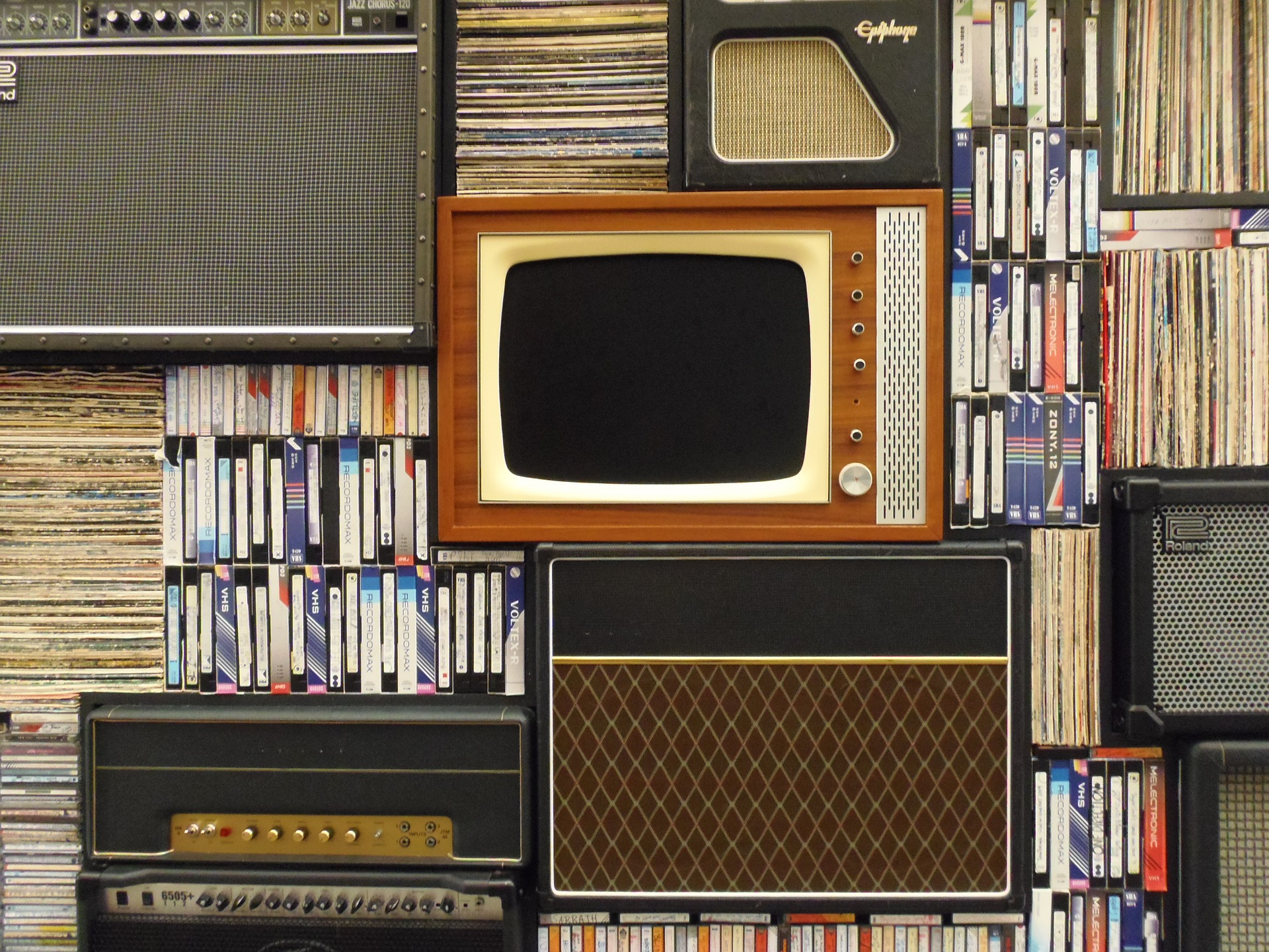 While your tv might not look like this any more, any way of watching videos can help you improve your language skills.