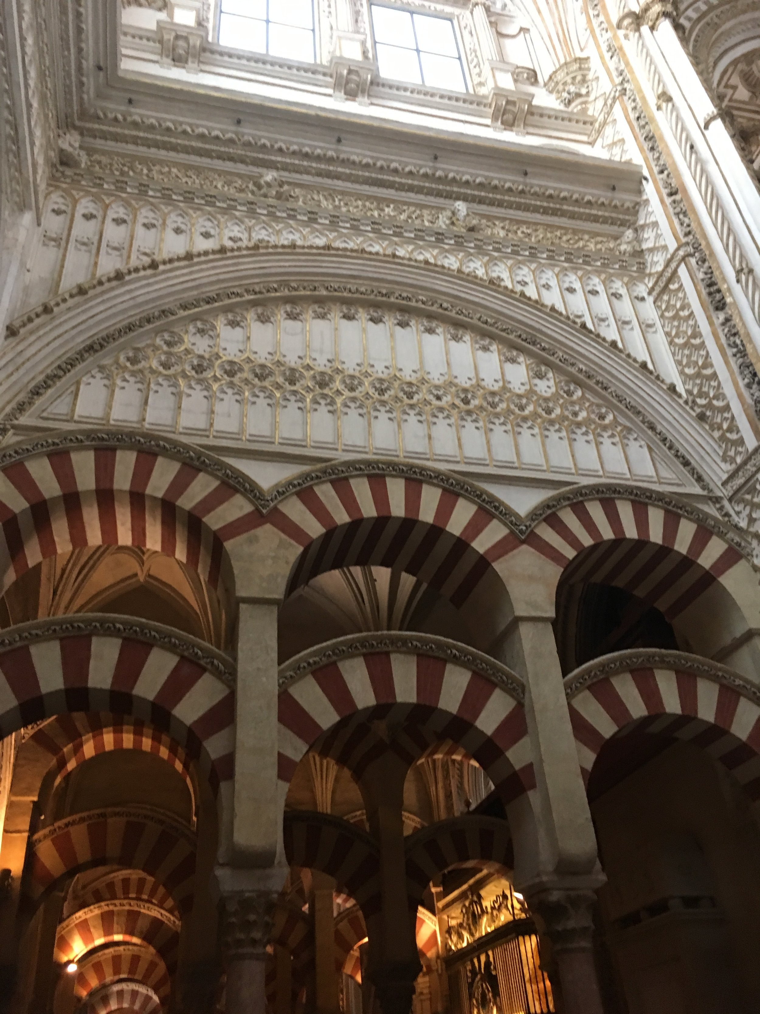 The Cathedral-Mosque of Córdoba.