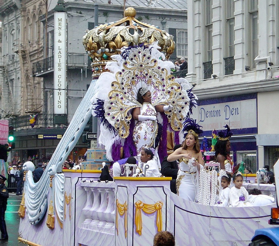 El Gran Coso Apoteosis  includes a Queen's float similar to this.