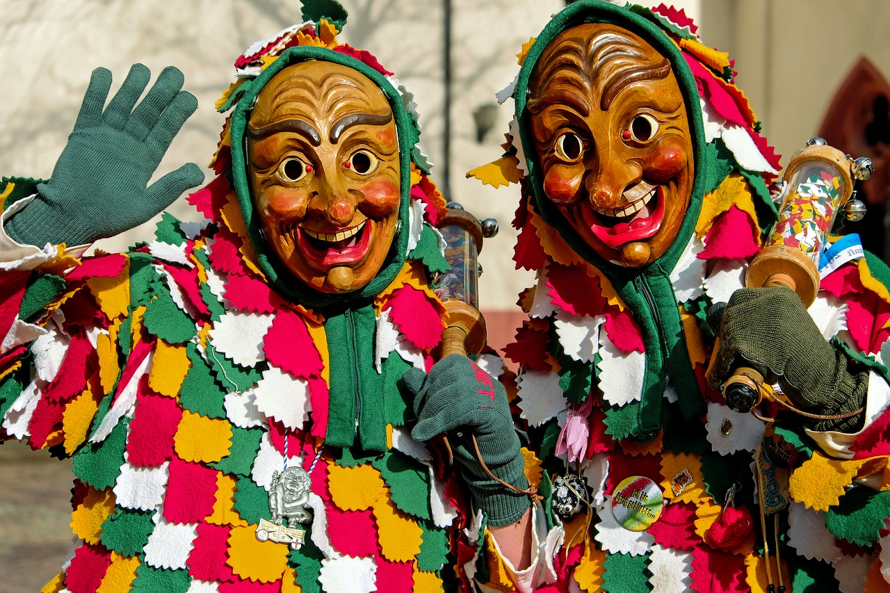 Elaborate costumes are a big part of the festival.