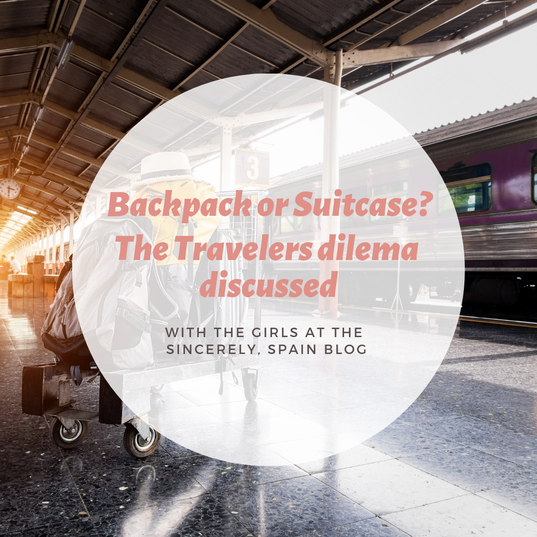 Should you take a backpack or a suitcase?