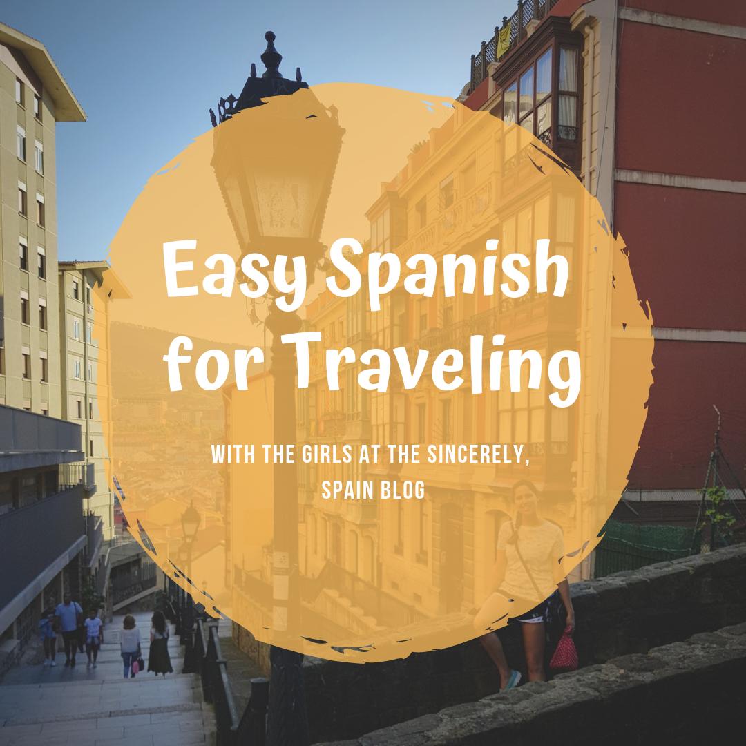 Easy Spanish for Traveling Pinterest