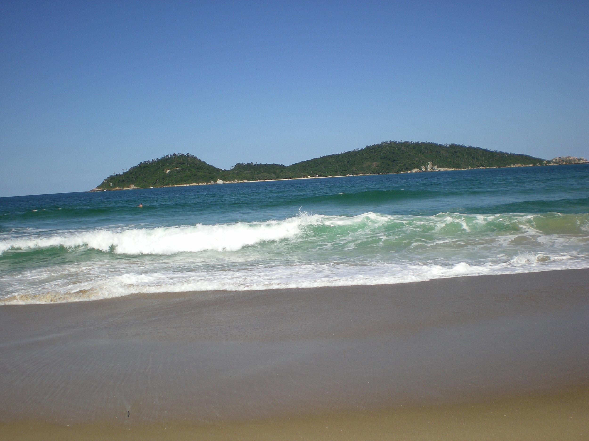 Beach in Florianopolis Brazil