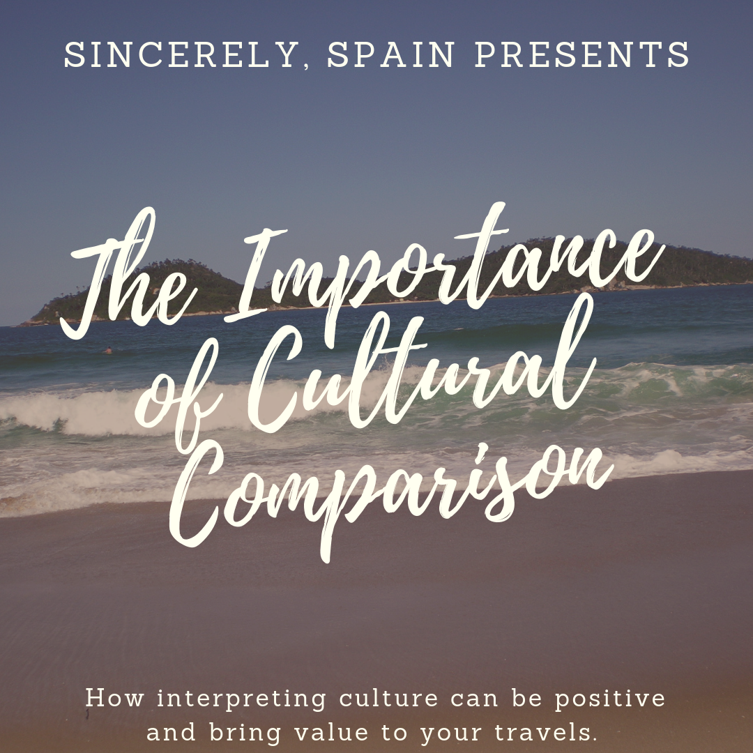 The Importance of culture comparison.