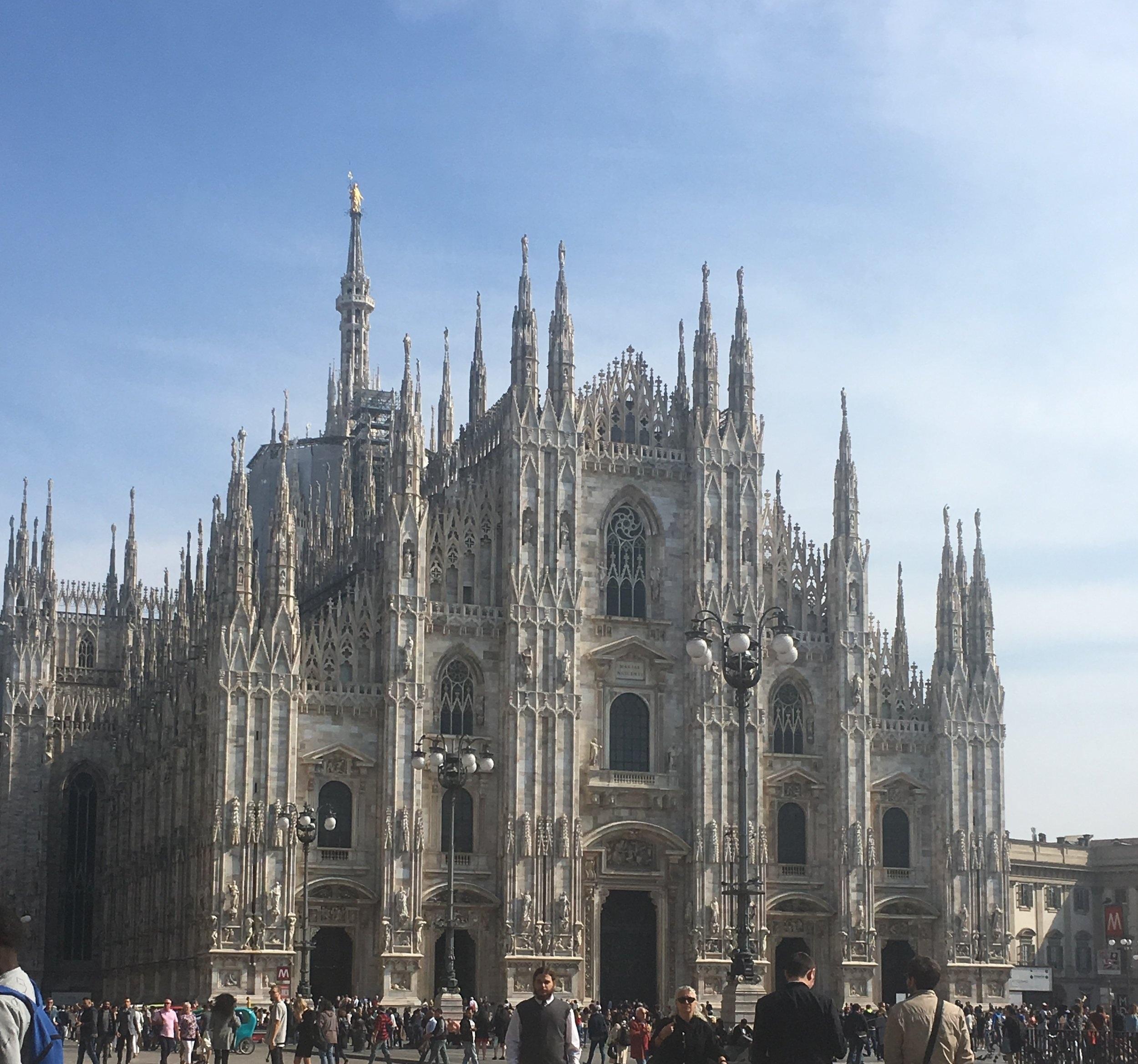 The+Duomo+in+Milan