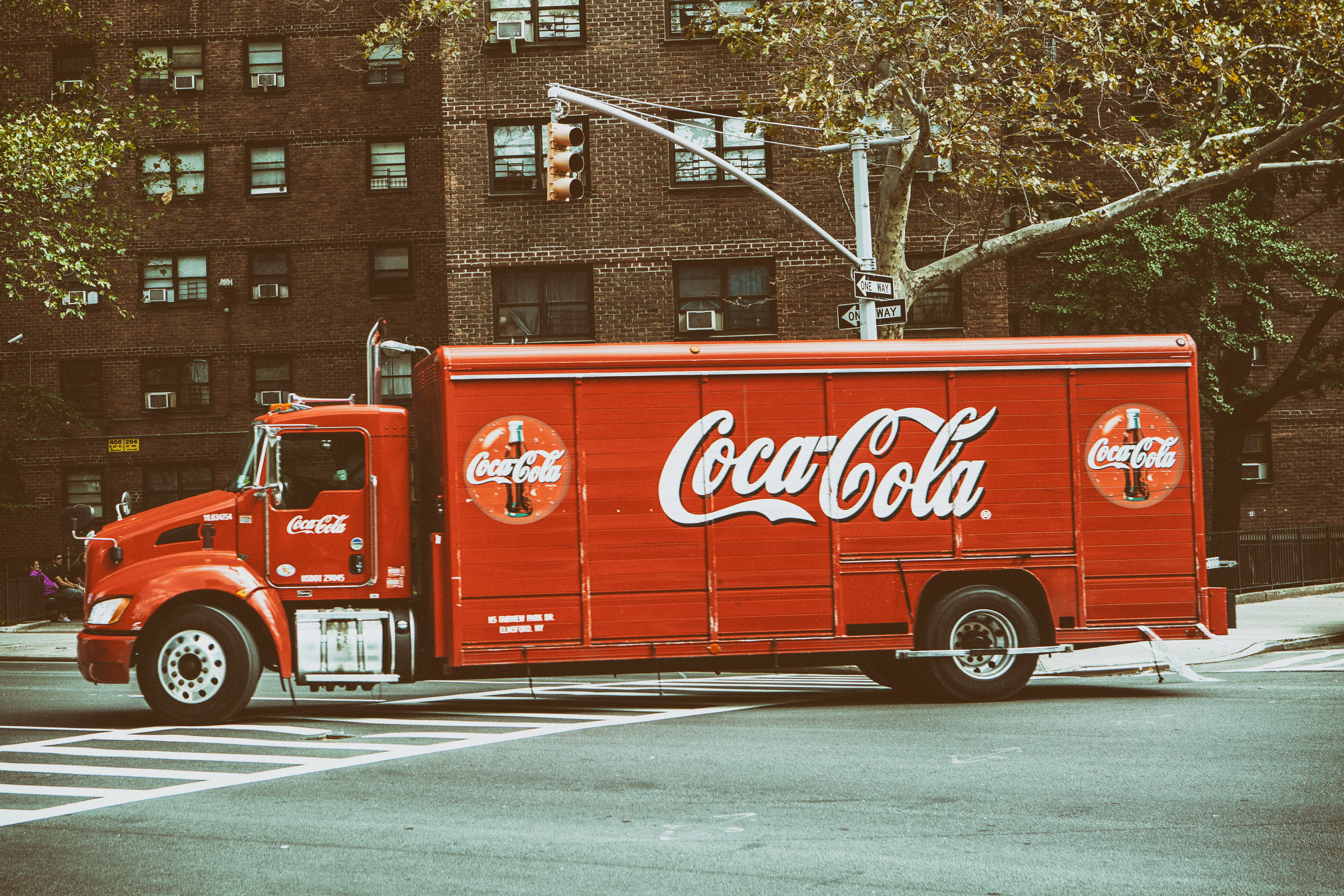 Coca Cola Van, USA. Photo by ISO Republic on Stocksnap.