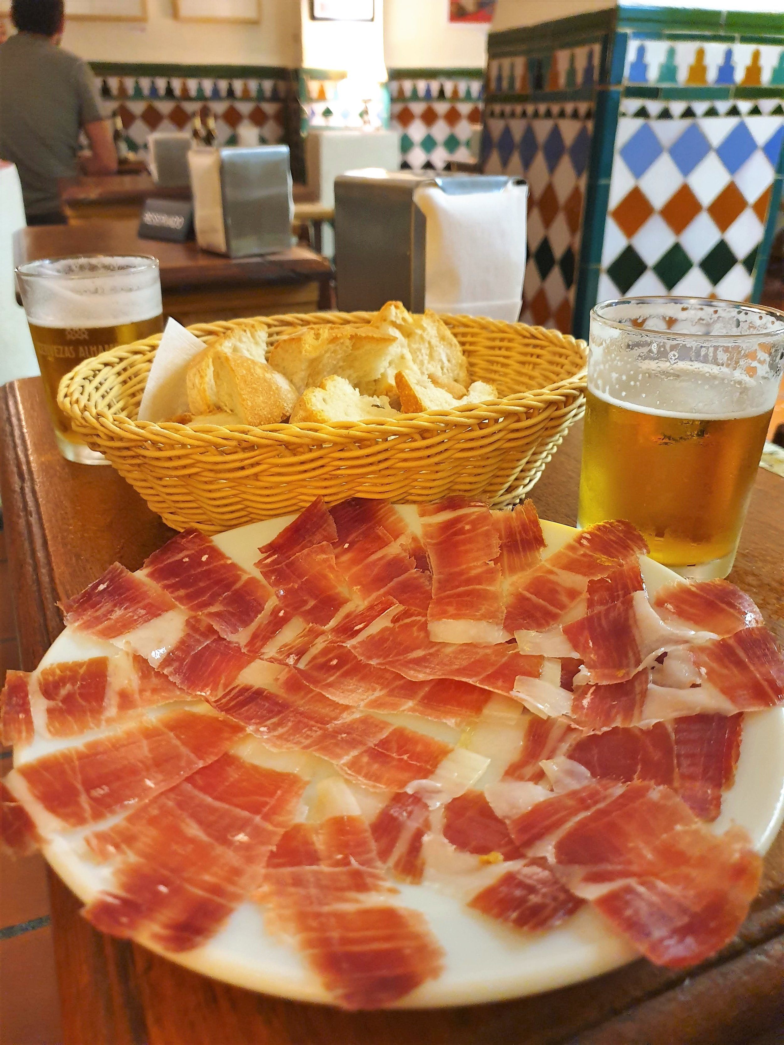 Be sure to savor the sensory experience of your ham, especially  jamón de bellota  which essentially melts in your mouth.