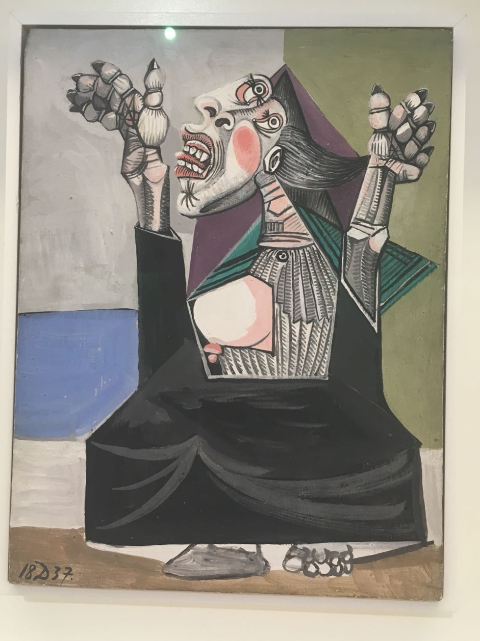 Am I the only one who feels like the chaos and confusion of 'adulting' is captured perfectly in this Picasso piece?
