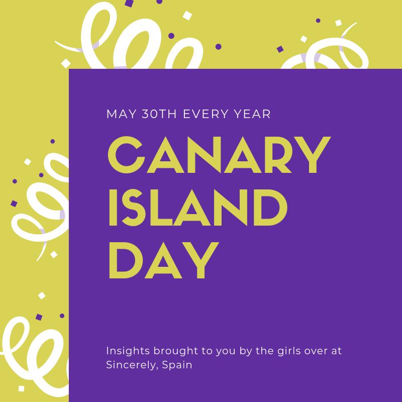 Canary Island Day.