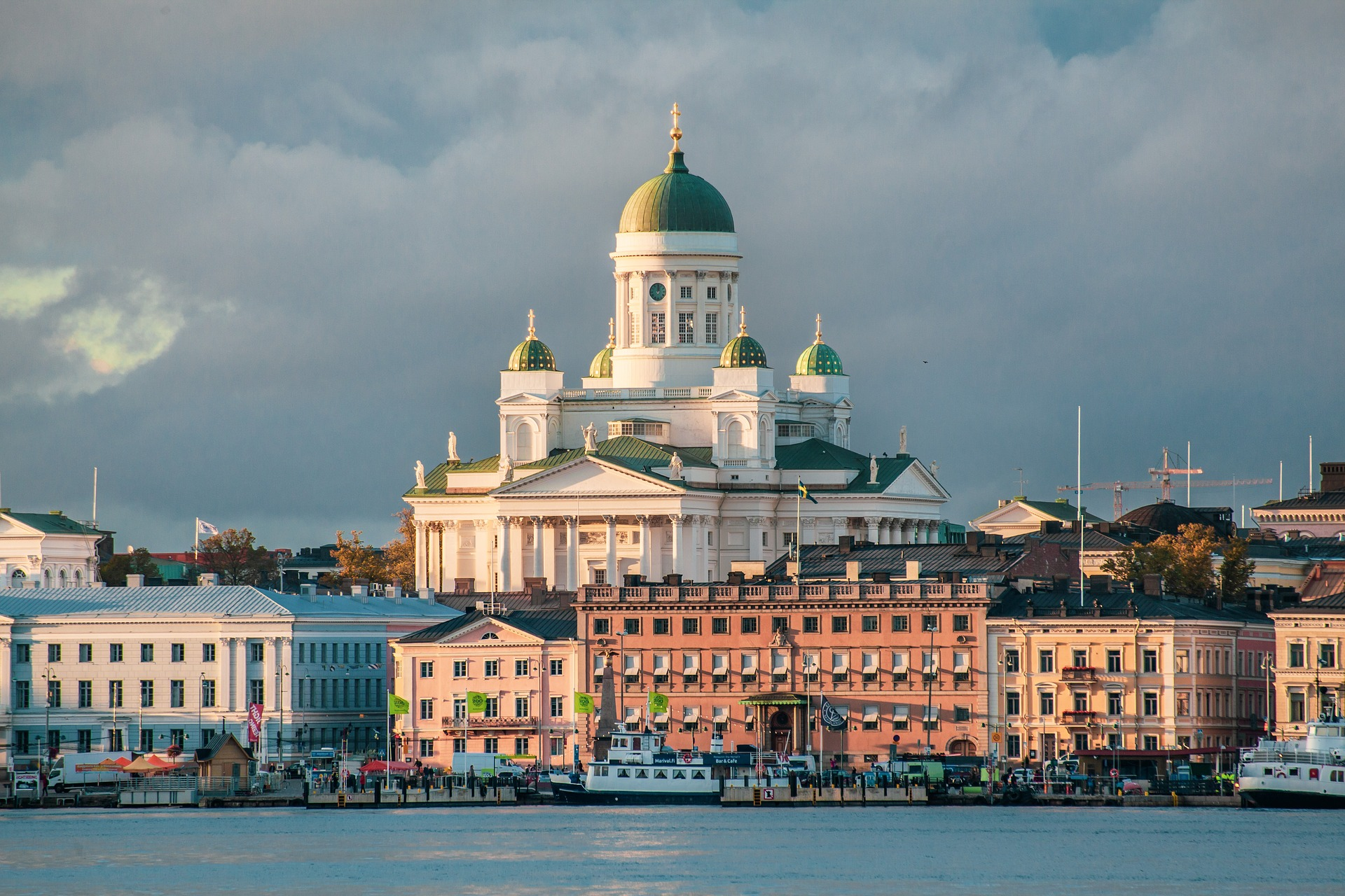 Today we are going a little bit further away than normal to visit Helsinki, a city that Claudia has been living in for the last four months.