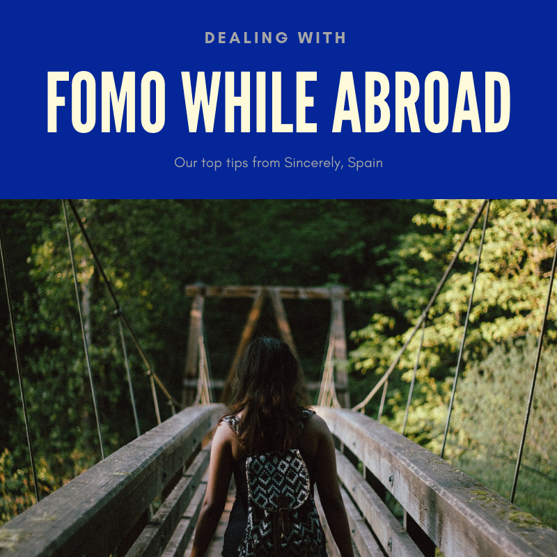 Dealing with FOMO while abroad.