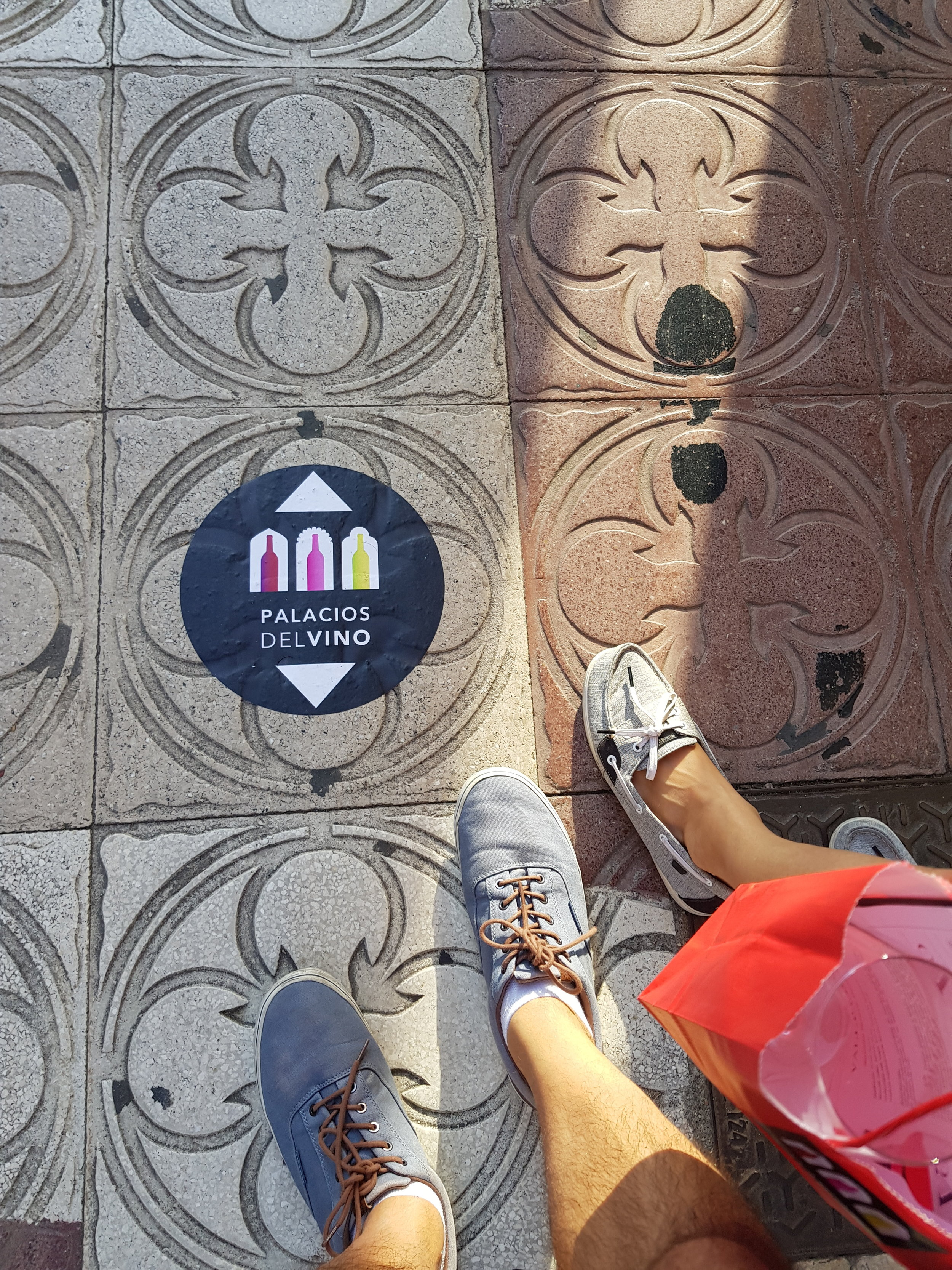 The  Palacios de Vinos  event provided us the most unique tour of Burgos and it felt like such an adventure following these stickers to the next location.