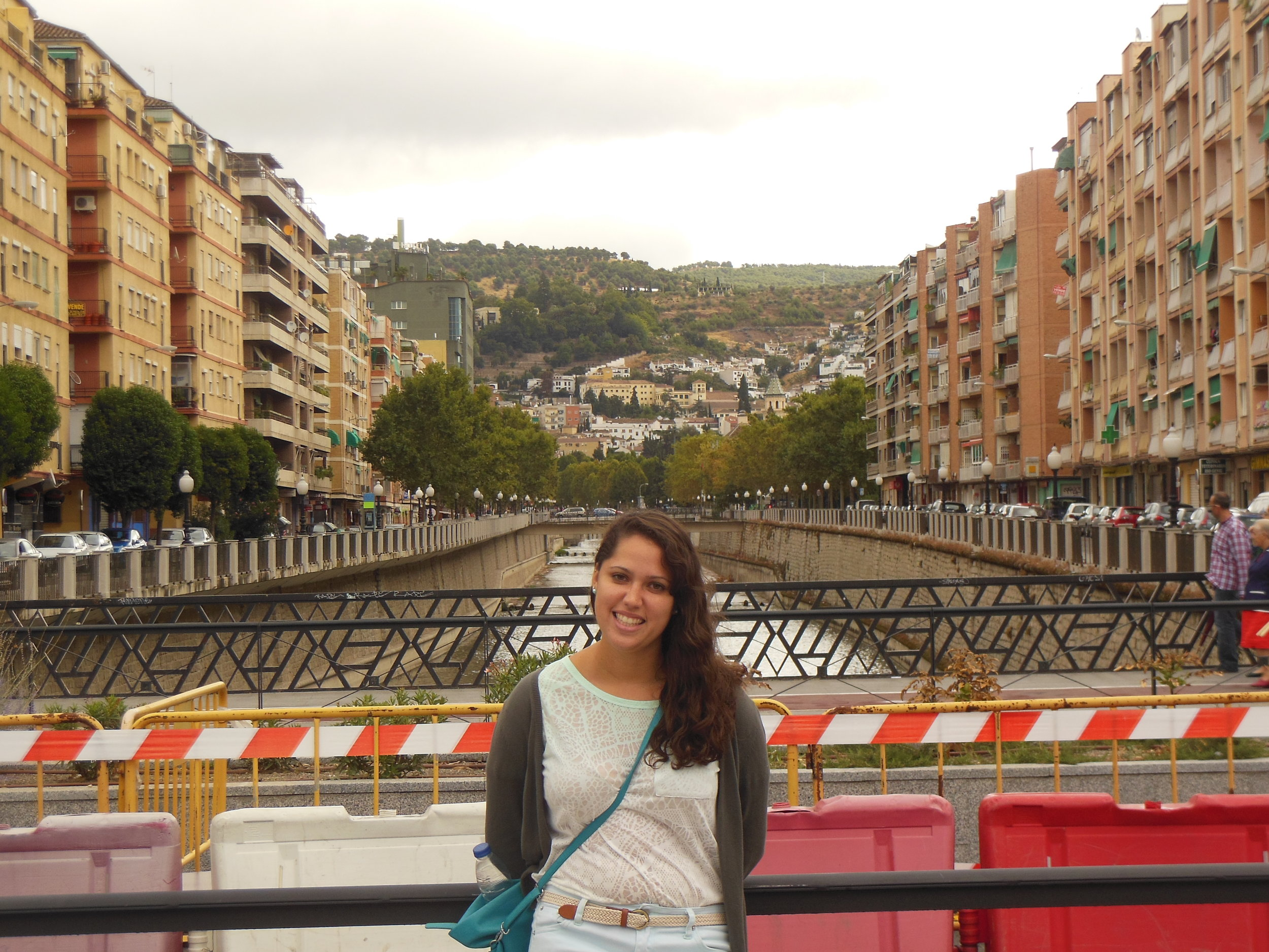 My first (and only) day of apartment-hunting that first year in Granada.